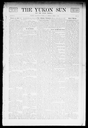 Primary view of object titled 'The Yukon Sun And The Yukon Weekly. (Yukon, Okla. Terr.), Vol. 9, No. 14, Ed. 1 Friday, April 5, 1901'.