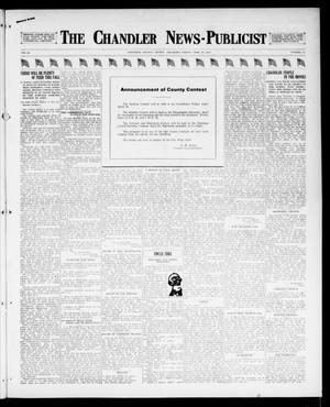 Primary view of object titled 'The Chandler News-Publicist (Chandler, Okla.), Vol. 26, No. 32, Ed. 1 Friday, April 20, 1917'.