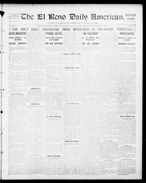 Primary view of object titled 'The El Reno Daily American. (El Reno, Okla. Terr.), Vol. 1, No. 75, Ed. 1 Monday, September 30, 1901'.