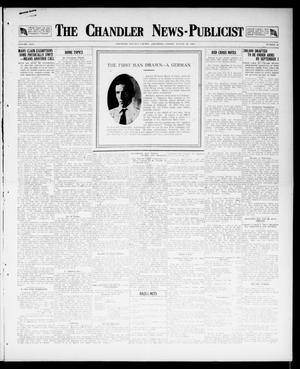 Primary view of object titled 'The Chandler News-Publicist (Chandler, Okla.), Vol. 26, No. 48, Ed. 1 Friday, August 10, 1917'.