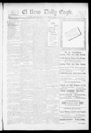 Primary view of object titled 'El Reno Daily Eagle. (El Reno, Okla.), Vol. 1, No. 170, Ed. 1 Friday, April 19, 1895'.