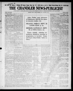 Primary view of object titled 'The Chandler News-Publicist (Chandler, Okla.), Vol. 23, No. 52, Ed. 1 Friday, September 11, 1914'.