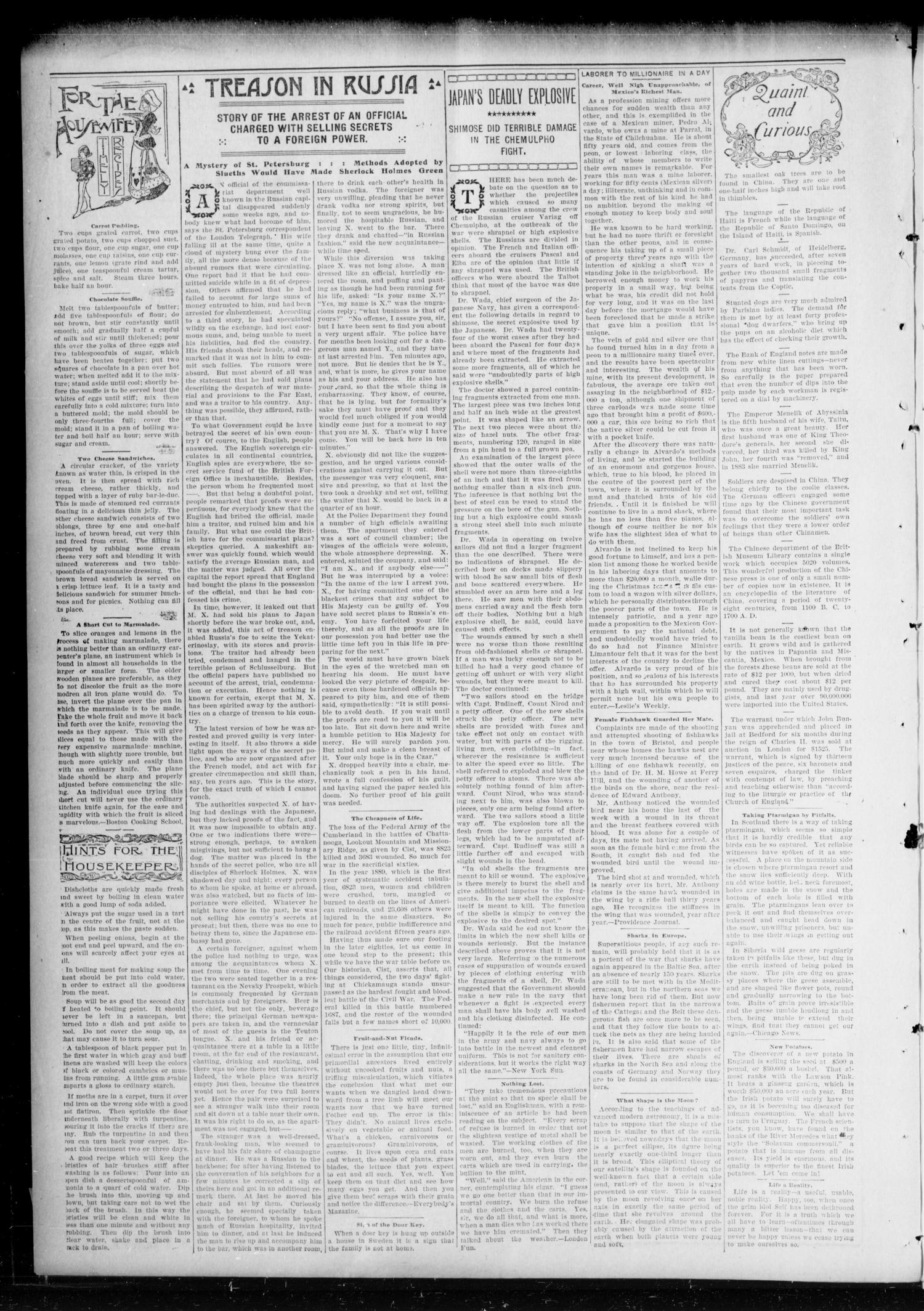 Chandler Daily Publicist. (Chandler, Okla. Terr.), Vol. 3, No. 92, Ed. 1 Tuesday, July 19, 1904                                                                                                      [Sequence #]: 4 of 4