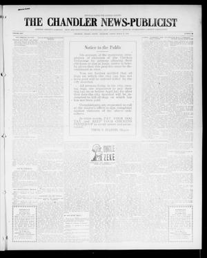 Primary view of object titled 'The Chandler News-Publicist (Chandler, Okla.), Vol. 25, No. 28, Ed. 1 Friday, March 24, 1916'.
