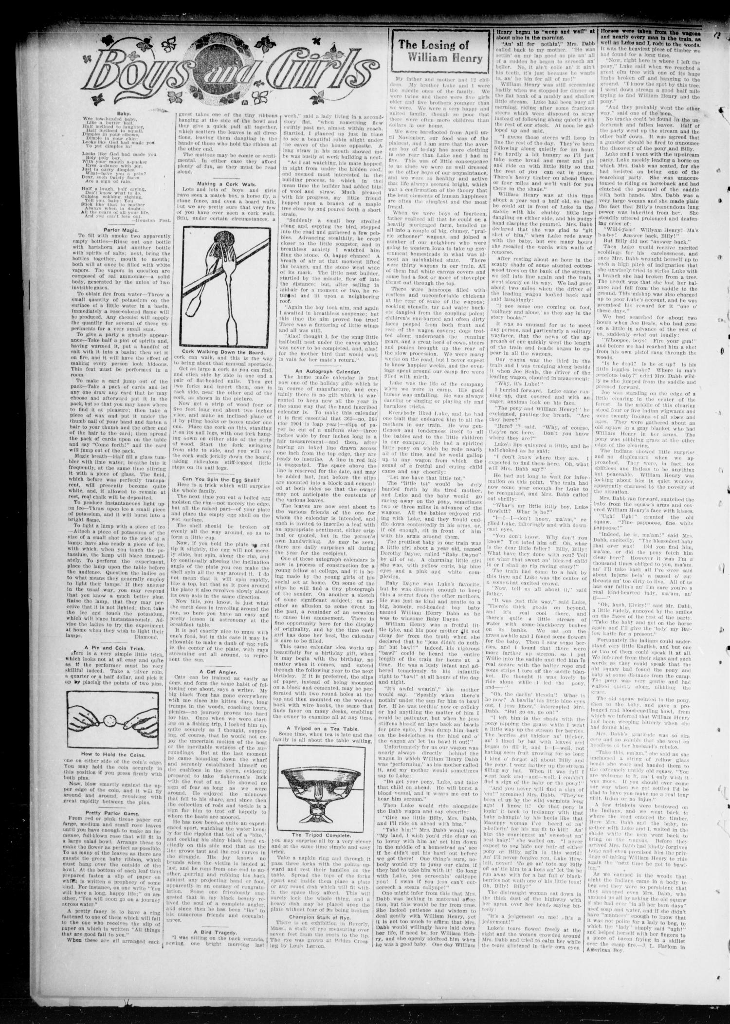 Chandler Daily Publicist. (Chandler, Okla. Terr.), Vol. 3, No. 138, Ed. 1 Saturday, September 10, 1904                                                                                                      [Sequence #]: 8 of 8