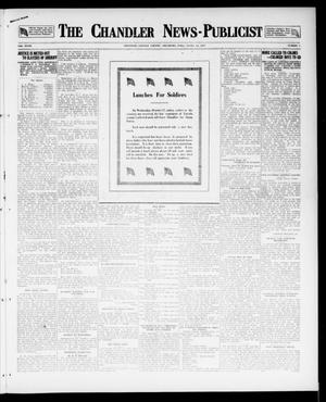 Primary view of object titled 'The Chandler News-Publicist (Chandler, Okla.), Vol. 27, No. 5, Ed. 1 Friday, October 12, 1917'.