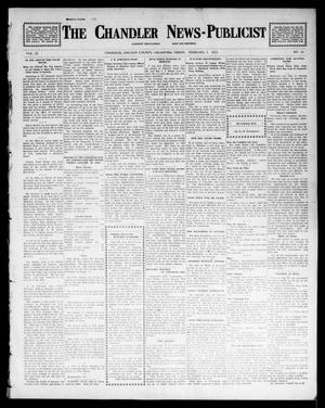 Primary view of object titled 'The Chandler News-Publicist (Chandler, Okla.), Vol. 22, No. 21, Ed. 1 Friday, February 7, 1913'.