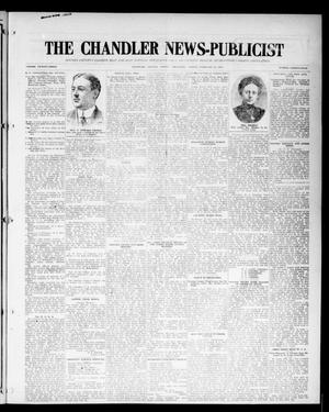 Primary view of object titled 'The Chandler News-Publicist (Chandler, Okla.), Vol. 23, No. 24, Ed. 1 Friday, February 27, 1914'.