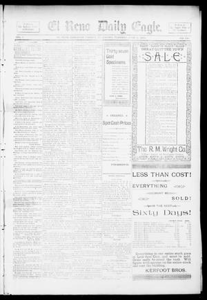 Primary view of object titled 'El Reno Daily Eagle. (El Reno, Okla.), Vol. 1, No. 221, Ed. 1 Tuesday, June 18, 1895'.