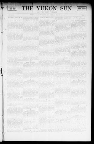 Primary view of object titled 'The Yukon Sun And The Yukon Weekly. (Yukon, Okla. Terr.), Vol. 9, No. 35, Ed. 1 Friday, August 30, 1901'.