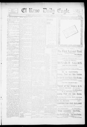 Primary view of object titled 'El Reno Daily Eagle. (El Reno, Okla.), Vol. 1, No. 160, Ed. 1 Monday, April 8, 1895'.