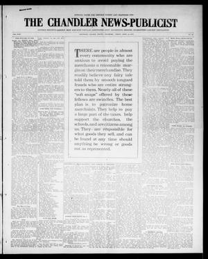 Primary view of object titled 'The Chandler News-Publicist (Chandler, Okla.), Vol. 24, No. 31, Ed. 1 Friday, April 16, 1915'.