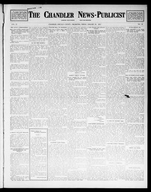 Primary view of object titled 'The Chandler News-Publicist (Chandler, Okla.), Vol. 22, No. 19, Ed. 1 Friday, January 24, 1913'.