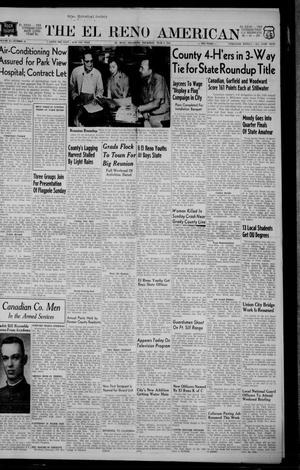 Primary view of The El Reno American (El Reno, Okla.), Vol. 61, No. 33, Ed. 1 Thursday, June 9, 1955