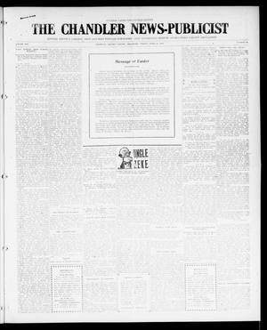 Primary view of object titled 'The Chandler News-Publicist (Chandler, Okla.), Vol. 25, No. 32, Ed. 1 Friday, April 21, 1916'.