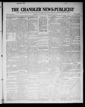 Primary view of object titled 'The Chandler News-Publicist (Chandler, Okla.), Vol. 23, No. 18, Ed. 1 Friday, January 16, 1914'.