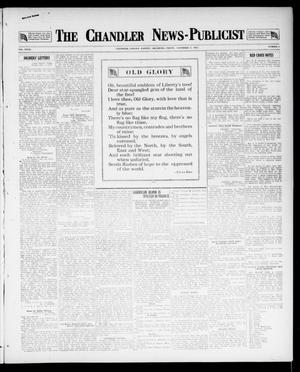 Primary view of object titled 'The Chandler News-Publicist (Chandler, Okla.), Vol. 27, No. 9, Ed. 1 Friday, November 9, 1917'.
