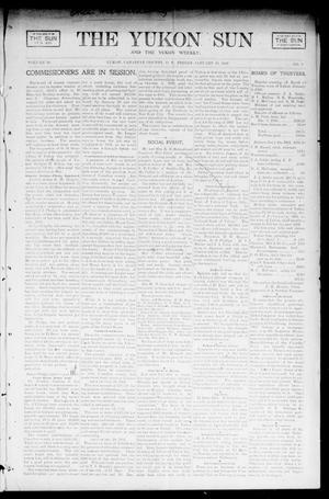 Primary view of object titled 'The Yukon Sun And The Yukon Weekly. (Yukon, Okla. Terr.), Vol. 10, No. 2, Ed. 1 Friday, January 10, 1902'.