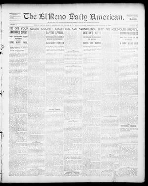 Primary view of object titled 'The El Reno Daily American. (El Reno, Okla. Terr.), Vol. 1, No. 50, Ed. 1 Wednesday, September 4, 1901'.