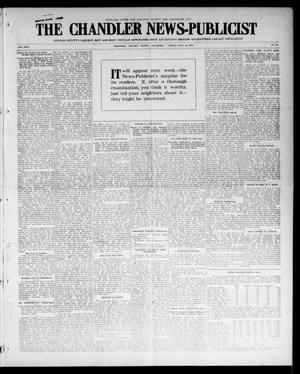 Primary view of object titled 'The Chandler News-Publicist (Chandler, Okla.), Vol. 24, No. 44, Ed. 1 Friday, July 16, 1915'.