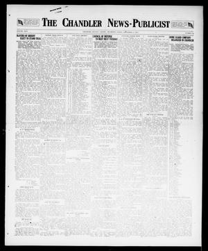 Primary view of object titled 'The Chandler News-Publicist (Chandler, Okla.), Vol. 26, No. 52, Ed. 1 Friday, September 7, 1917'.