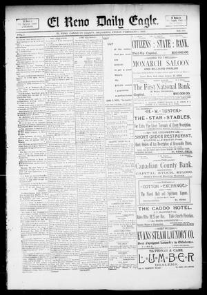 Primary view of object titled 'El Reno Daily Eagle. (El Reno, Okla.), Vol. 1, No. 104, Ed. 1 Friday, February 1, 1895'.