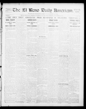 Primary view of object titled 'The El Reno Daily American. (El Reno, Okla. Terr.), Vol. 1, No. 73, Ed. 1 Saturday, September 28, 1901'.