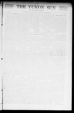 Primary view of object titled 'The Yukon Sun And The Yukon Weekly. (Yukon, Okla. Terr.), Vol. 9, No. 47, Ed. 1 Friday, November 22, 1901'.