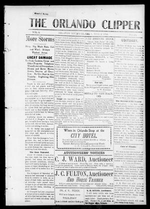 Primary view of object titled 'The Orlando Clipper (Orlando, Okla.), Vol. 6, No. 24, Ed. 1 Friday, May 3, 1912'.