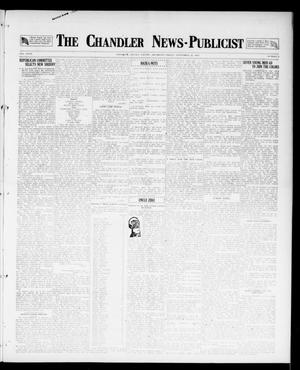 Primary view of object titled 'The Chandler News-Publicist (Chandler, Okla.), Vol. 27, No. 2, Ed. 1 Friday, September 21, 1917'.