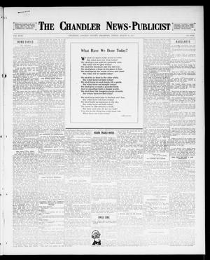 Primary view of object titled 'The Chandler News-Publicist (Chandler, Okla.), Vol. 26, No. 27, Ed. 1 Friday, March 16, 1917'.