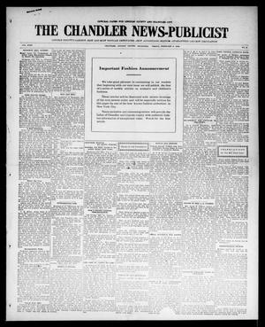 Primary view of object titled 'The Chandler News-Publicist (Chandler, Okla.), Vol. 24, No. 21, Ed. 1 Friday, February 5, 1915'.