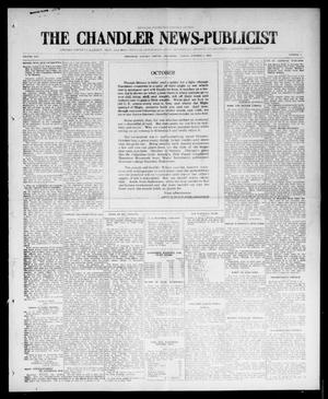 Primary view of object titled 'The Chandler News-Publicist (Chandler, Okla.), Vol. 25, No. 3, Ed. 1 Friday, October 1, 1915'.
