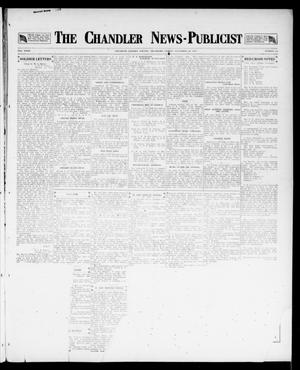 Primary view of object titled 'The Chandler News-Publicist (Chandler, Okla.), Vol. 27, No. 12, Ed. 1 Friday, November 30, 1917'.