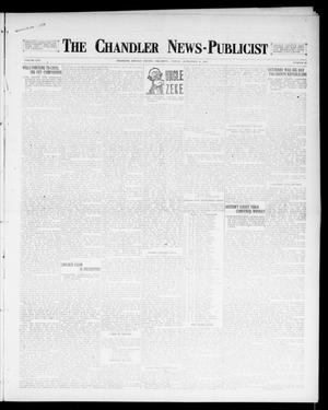 Primary view of object titled 'The Chandler News-Publicist (Chandler, Okla.), Vol. 25, No. 52, Ed. 1 Friday, September 8, 1916'.