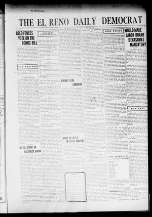 Primary view of object titled 'The El Reno Daily Democrat (El Reno, Okla.), Vol. 31, No. 165, Ed. 1 Friday, October 28, 1921'.
