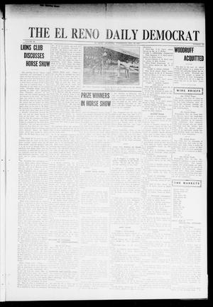 Primary view of object titled 'The El Reno Daily Democrat (El Reno, Okla.), Vol. 31, No. 180, Ed. 1 Wednesday, November 16, 1921'.