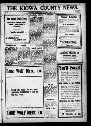 Primary view of object titled 'The Kiowa County News. (Lone Wolf, Okla.), Vol. 13, No. 13, Ed. 1 Thursday, February 26, 1914'.