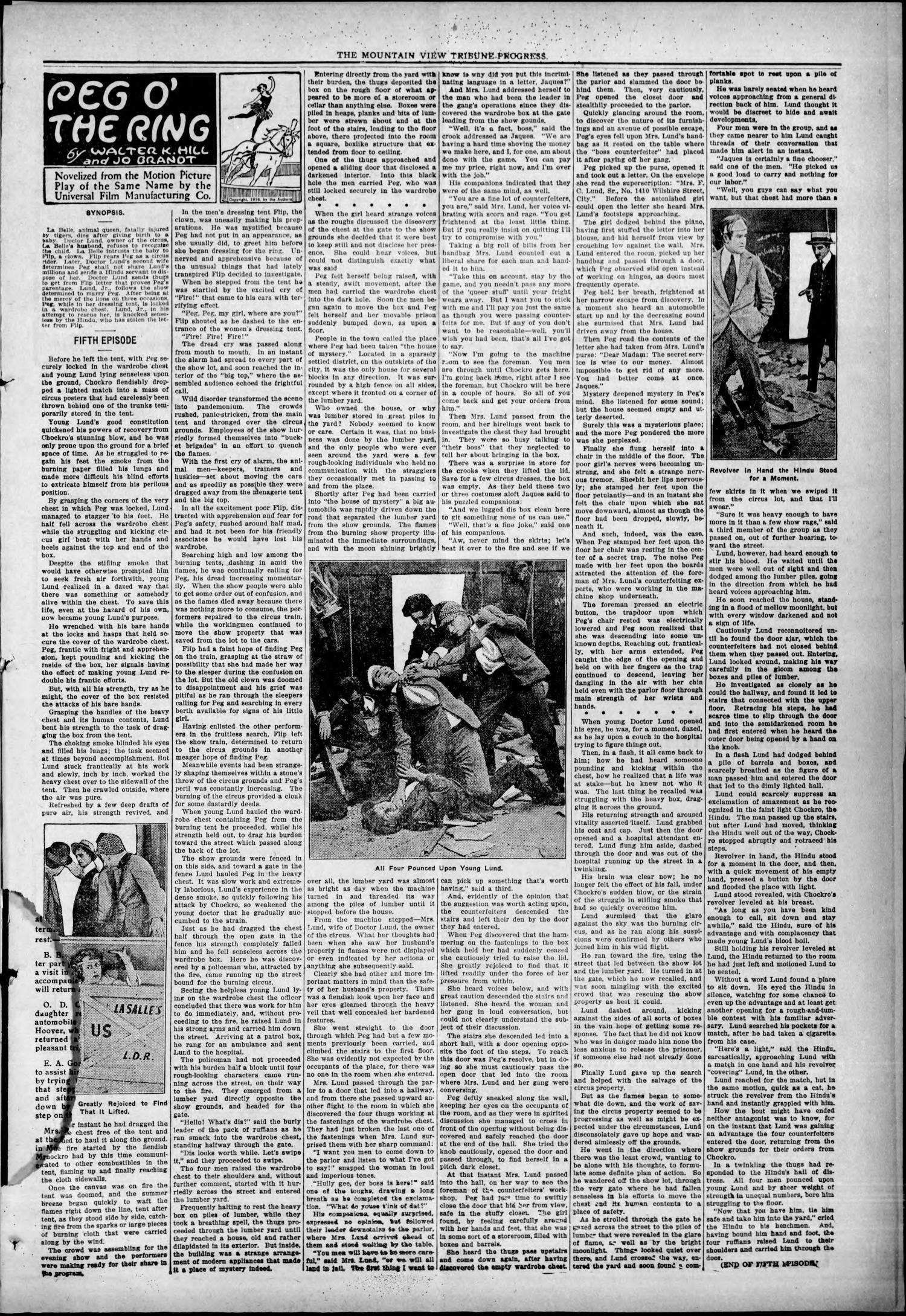 The Tribune-Progress (Mountain View, Okla.), Vol. 18, No. 16, Ed. 1 Friday, August 25, 1916                                                                                                      [Sequence #]: 3 of 8