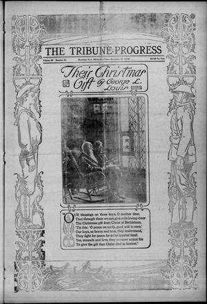 Primary view of object titled 'The Tribune-Progress (Mountain View, Okla.), Vol. 20, No. 33, Ed. 1 Friday, December 20, 1918'.