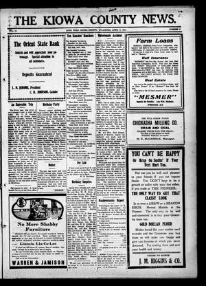 Primary view of The Kiowa County News. (Lone Wolf, Okla.), Vol. 13, No. 17, Ed. 1 Thursday, April 2, 1914