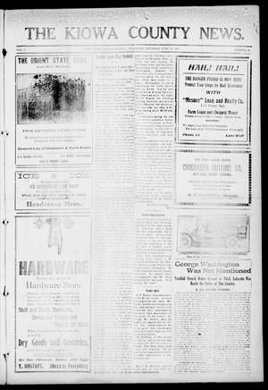 Primary view of object titled 'The Kiowa County News. (Lone Wolf, Okla.), Vol. 17, No. 26, Ed. 1 Thursday, June 13, 1918'.