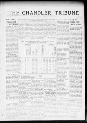 Primary view of object titled 'The Chandler Tribune (Chandler, Okla.), Vol. 17, No. 47, Ed. 1 Thursday, January 10, 1918'.