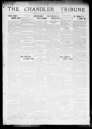 Primary view of object titled 'The Chandler Tribune (Chandler, Okla.), Vol. 14, No. 46, Ed. 1 Thursday, January 7, 1915'.