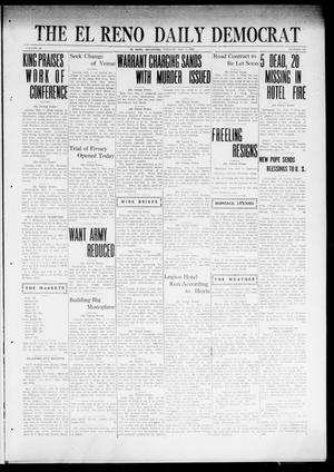 Primary view of object titled 'The El Reno Daily Democrat (El Reno, Okla.), Vol. 31, No. 147, Ed. 1 Tuesday, February 7, 1922'.