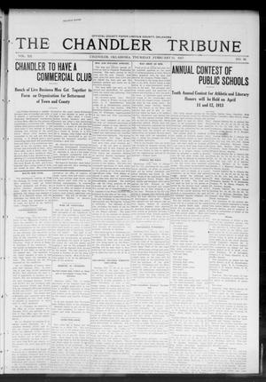 Primary view of object titled 'The Chandler Tribune (Chandler, Okla.), Vol. 12, No. 50, Ed. 1 Thursday, February 13, 1913'.