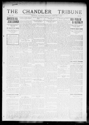 Primary view of object titled 'The Chandler Tribune (Chandler, Okla.), Vol. 14, No. 50, Ed. 1 Thursday, February 4, 1915'.