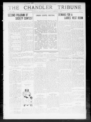 Primary view of object titled 'The Chandler Tribune (Chandler, Okla.), Vol. 14, No. 2, Ed. 1 Thursday, March 5, 1914'.