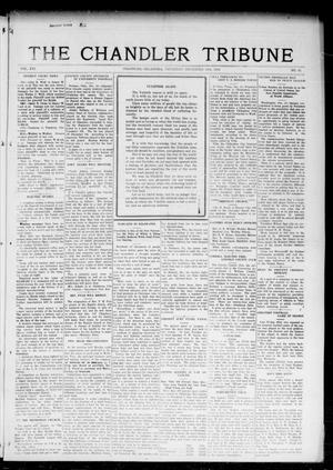 Primary view of object titled 'The Chandler Tribune (Chandler, Okla.), Vol. 16, No. 43, Ed. 1 Thursday, December 14, 1916'.