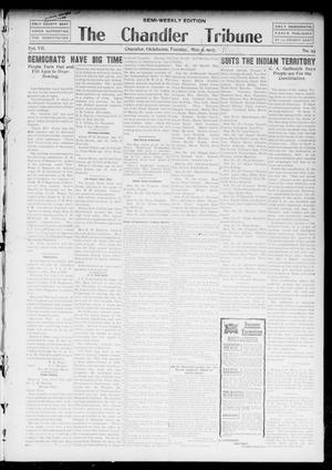 Primary view of object titled 'The Chandler Tribune (Chandler, Okla.), Vol. 7, No. 23, Ed. 1 Tuesday, May 7, 1907'.